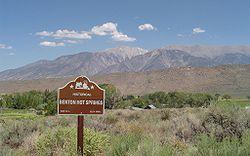Benton Hot Springs And White Mountains