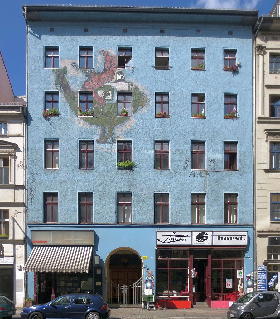 File Berlin Kreuzberg Oranienstrasse 45 Mietshaus Jpg
