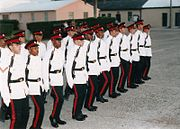 Bermuda Regiment PNCO Cadre Promotion Parade