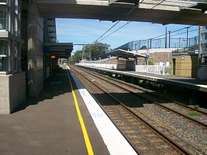 Rail Clearways Program - Berowra additional platform completed in October 2006