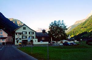 Betschwanden - Image: Betschwanden Hotelo Poshto kaj preghejo 118