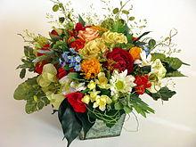 un bouquet de fleurs en anglais