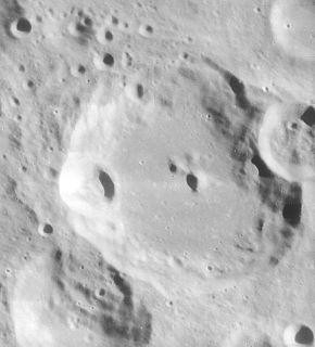 Biela (crater) impact crater