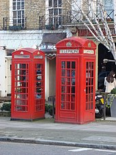 Red telephone box - Wikipedia
