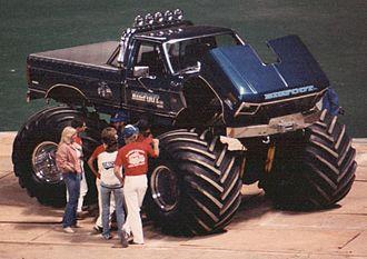 Bigfoot (truck) - Bigfoot 3 in St. Louis in January 1984.