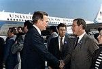 Bill McCollum and Jim Smith greeting George H. W. Bush.jpg
