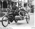 Bill and Joe James in a motorcyle with side car (4624214743).jpg