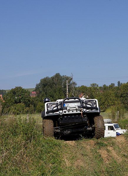 Bining, France, Offroad-Training-Area