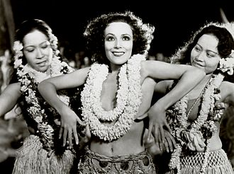 Bird of Paradise (1932 film) - Dolores del Río in a dance scene.