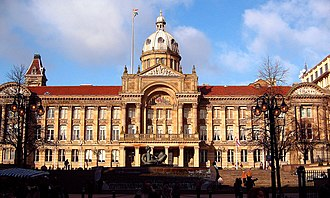 City status in the United Kingdom - Birmingham was the first English town without an Anglican cathedral to be granted city status. Birmingham City Council meets at the Council House.