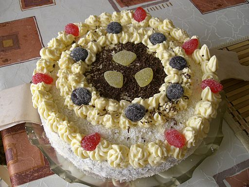 Birthday cake (czech)
