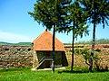 Biserica Reformată, fortificată, din Ilieni Jud. Covasna, Ziduri şi turn fortificaţie exterioară..jpg
