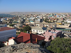 View of Lüderitz