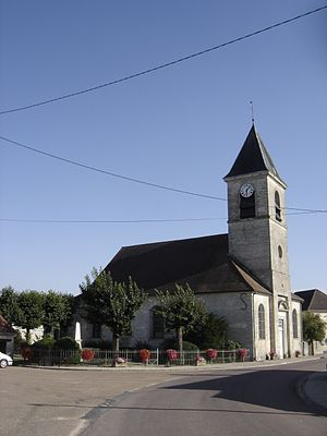 Bligny, Aube - Image: Bligny église