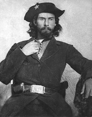 Bushwhacker - Notorious Confederate bushwhacker Bloody Bill Anderson