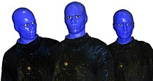 alt=Description de l'image Blue Man Group.jpg.