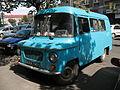 Blue ZSD Nysa 522 T light commercial vehicle in Kraków 1.jpg