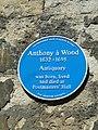 Blue plaque in Merton Street - geograph.org.uk - 2528516.jpg