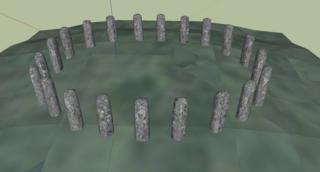 Bluestonehenge Neolithic henge monument