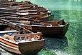 Boats for hire on the lake Kozjak.jpg
