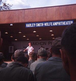 Nakhon Phanom Royal Thai Navy Base - Bob Hope's 1966 Christmas Show at Nakhon Phanom