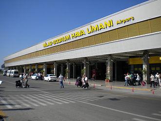 Milas–Bodrum Airport - Image: Bodrumairport