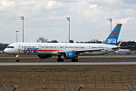 Boeing 757-3E7 Arkia 4X-BAW (13453986673).jpg