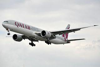 Boeing 777-3DZ(ER) - Qatar Airways (A7-BAI).jpg