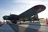Boeing B-17G-95-DL Flying Fortress Texas Raiders 44-83872 N7227C BelowLWing Dawn SNF 04April2014 (14585615212)