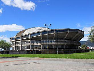 1982 FIBA World Championship - Image: Bogota Coliseo El Campín