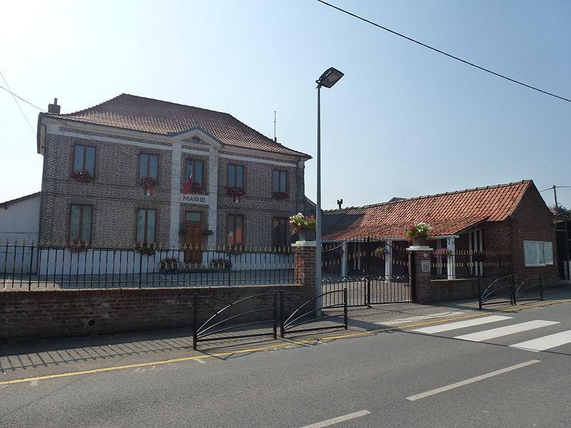 Bonningues-lès-Ardres (Pas-de-Calais) mairie