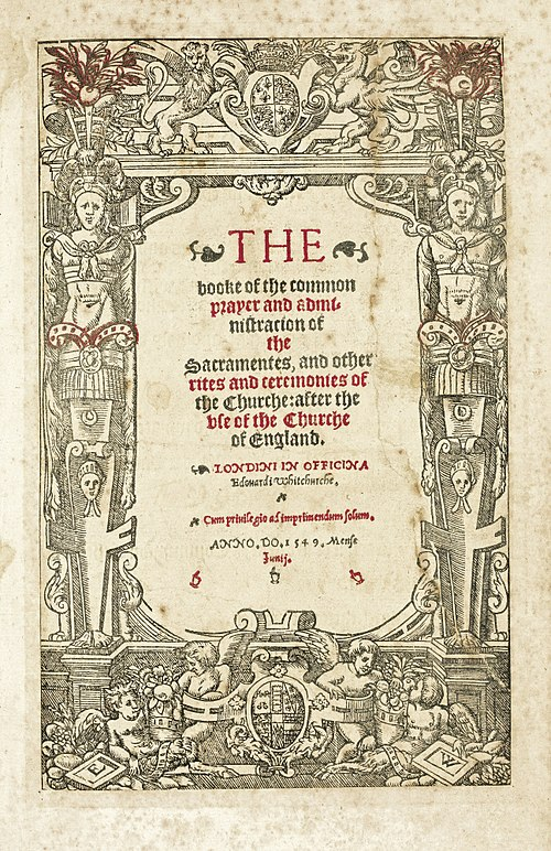Title page of the 1549 Book of Common Prayer Book of common prayer 1549.jpg