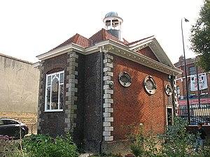 Boone's Chapel - Rear of Boone's Chapel