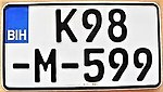 Bosnia and Herzegovina motorcycle plate.jpg
