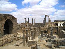 Uitgebreide ruïnes