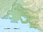 Bouches-du-Rhône department relief location map 2.jpg