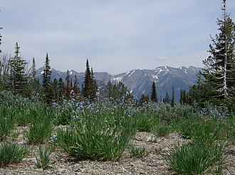 Boulder Mountains (Idaho) - Image: Boulder Mountains
