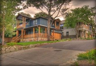 Bouldin Creek, Austin, Texas - One of Bouldin Creek's homes