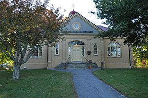 Jonathan Bourne Public Library - Image: Bourne MA Jonathan Bourne Research Center