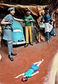 Boy with head wounds on road, traffic accident (Virtues and Vices display) Haw Par Villa (14790772681).jpg