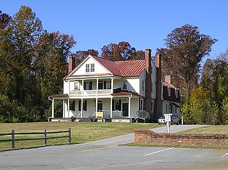Isle of Wight County, Virginia - Image: Boykins Tavern, Isle of Wight County, VA