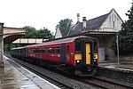Bradford-on-Avon - GWR 153325+150263 Weymouth service.JPG