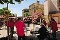 Brass band at the sunday market at Calvisson at 21 June 2015 - panoramio.jpg