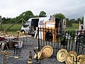 Brasses for sale at Clogher Saturday Market - geograph.org.uk - 2488655.jpg