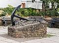 Braunton (Devon, UK), Skulptur -Anker- -- 2013 -- 00155.jpg