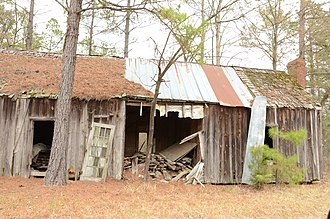 National Register of Historic Places listings in Dallas County, Arkansas - Image: Brazeale Homestead