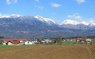 Breg pri Komendi Place in Upper Carniola, Slovenia