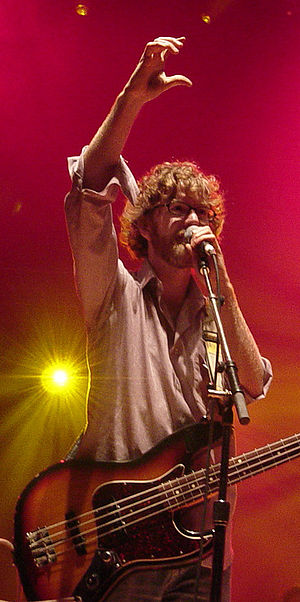 Brendan Canning - Performing with Broken Social Scene at the Olympic Island Festival in 2006.