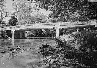 Bridge in West Earl Township bridge in United States of America
