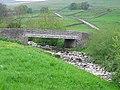 Bridge over Marsett Beck - geograph.org.uk - 813221.jpg